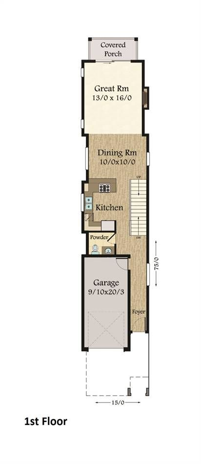florida 4288 3 bedrooms and 2 baths the house designers mmm in rh pinterest com