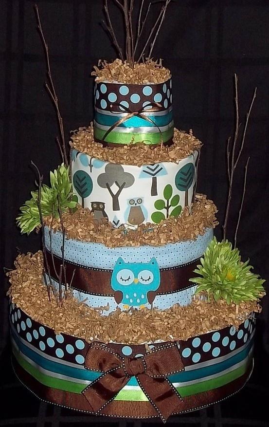owl diaper cake http://media-cache4.pinterest.com/upload/69031806757769122_KQvp3K3n_f.jpg beckygitau parties