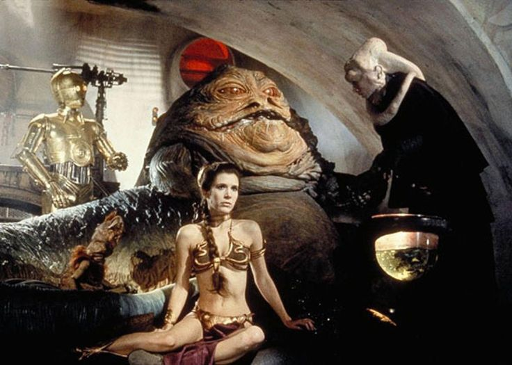 Princess Leia, the Gold Bikini, and Teaching Morality to my Kindergartner