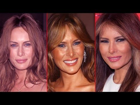 (66) The beauty evolution of the First Lady Melania Trump - Before and After - YouTube