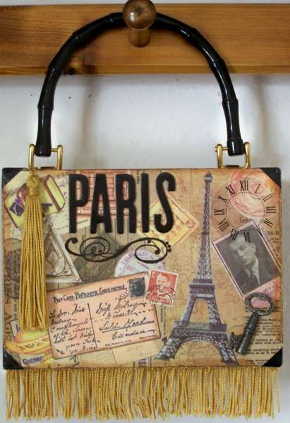 "Searchwords: Cigar Box Purse ""Paris"""
