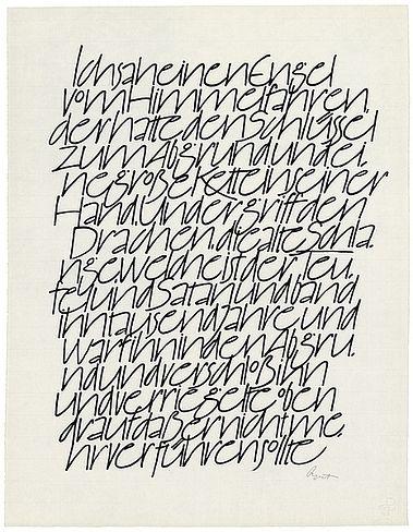 The Berlin Calligraphy Collection: Hans-Joachim Burgert