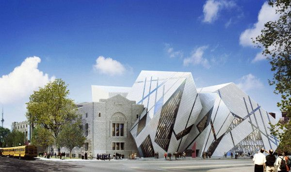 Modern Architecture Museum ultra modern architecture in toronto, canada - crystal room at