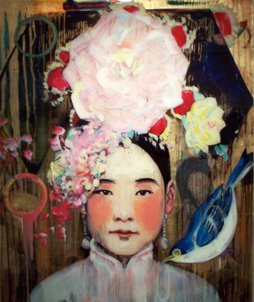 hung liu biography of an artist Trained as a social realist and muralist in her native china, hung liu now blends  chinese and western artistic influences to explore chinese history and culture,.