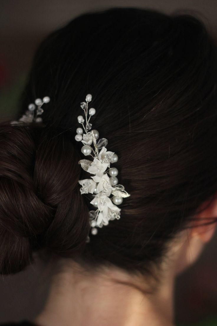 Wedding hair accessories,Bridal headpiece,Wedding hair comb,Wedding hairpiece,Wedding hair pins,braut haarkamm,peigne cheveux mariage