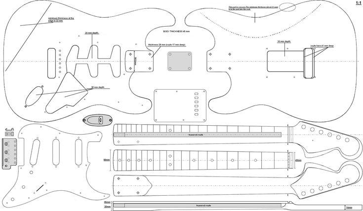 171 best images about guitar plans on pinterest
