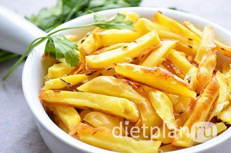 Картофель фри без масла - рецепт