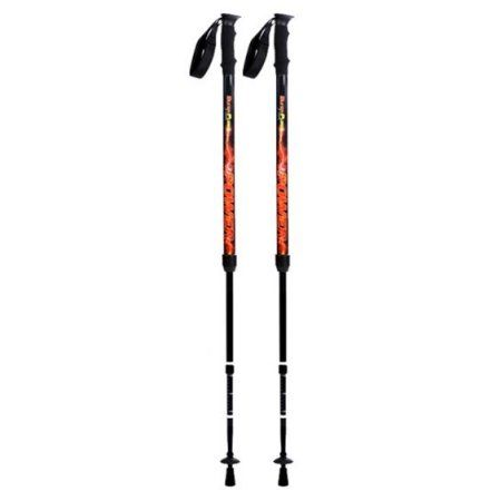BungyPump Power - Fitness Walking Poles with 22 pounds of Built-in Resistance