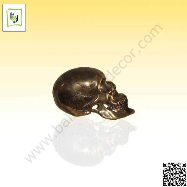 Nise skull made by copper with brown finishing ... by #balisawahdecor