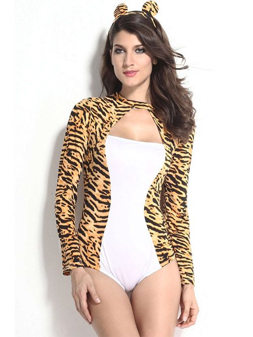 New arrival sexy night club stage Catwoman costumes YR-LC8860