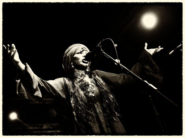 Sozan Moktar pendant le concert © Benjamin Favier