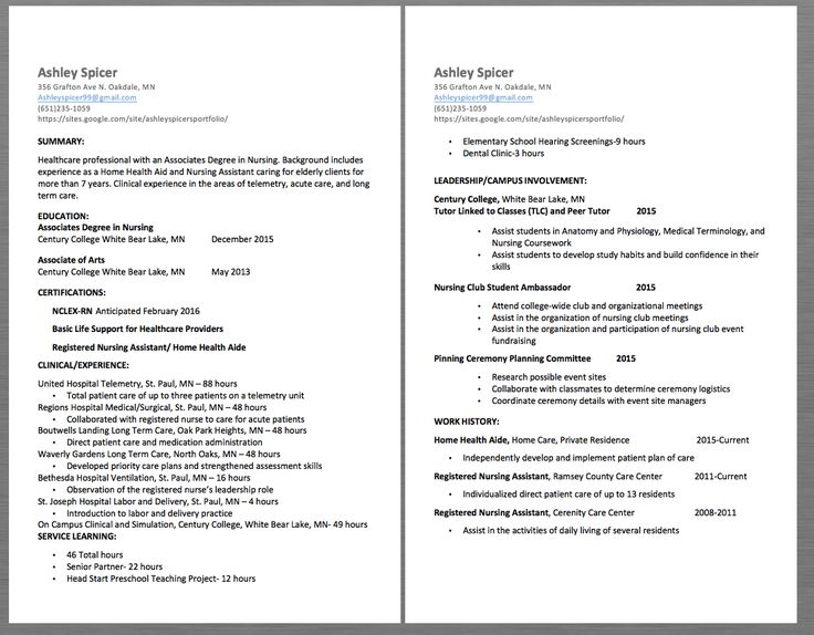 25+ Best Ideas About Professional Resume Samples On Pinterest