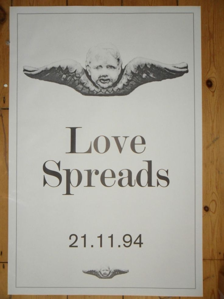 THE STONE ROSES Love Spreads ORIGINAL PROMO POSTER Second Coming MADE OF STONE