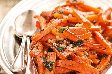Maple and mustard-glazed carrots recipe, NZ Woman's Weekly – Roasting these carrots with maple and mustard delivers a tangy flavour. You can add other root vegetables, such as parsnip, turnip, swede, kumara and beets. – foodhub.co.nz