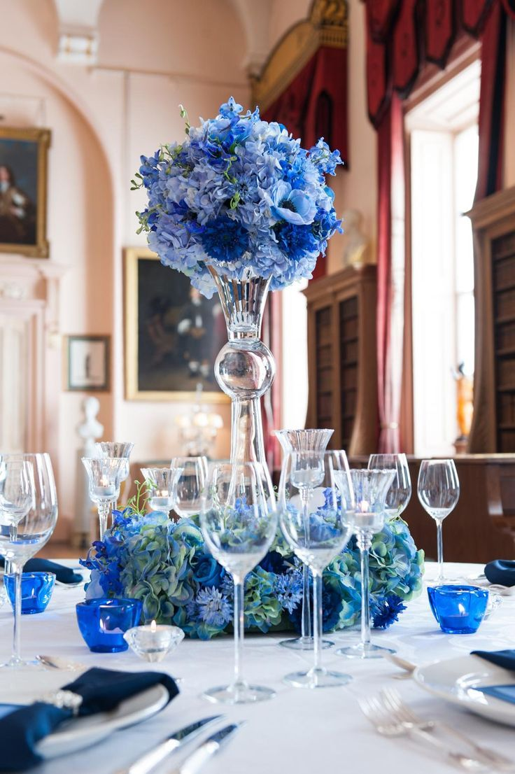 lusso styling on in 2019 blue centerpieces wedding decorations rh pinterest com