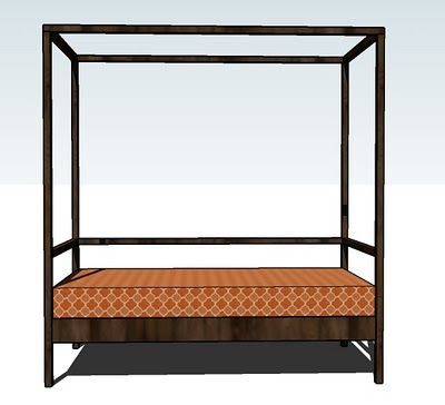 Build a Outdoor Daybed with Canopy