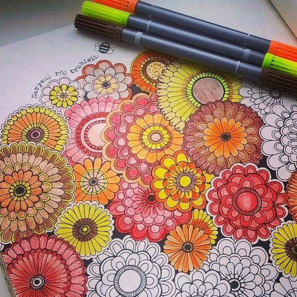#sztukakolorowania #kolorowankadladoroslych #book #coloring @sztuka_kolorowania