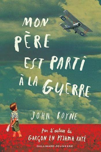 Mon père est parti à la guerre par John Boyne  #guerre #objecteur de conscience #traumatisme  http://cdilumiere.over-blog.com/2014/04/mon-pere-est-parti-a-la-guerre-john-boyne-gallimard-jeunesse-2014.html