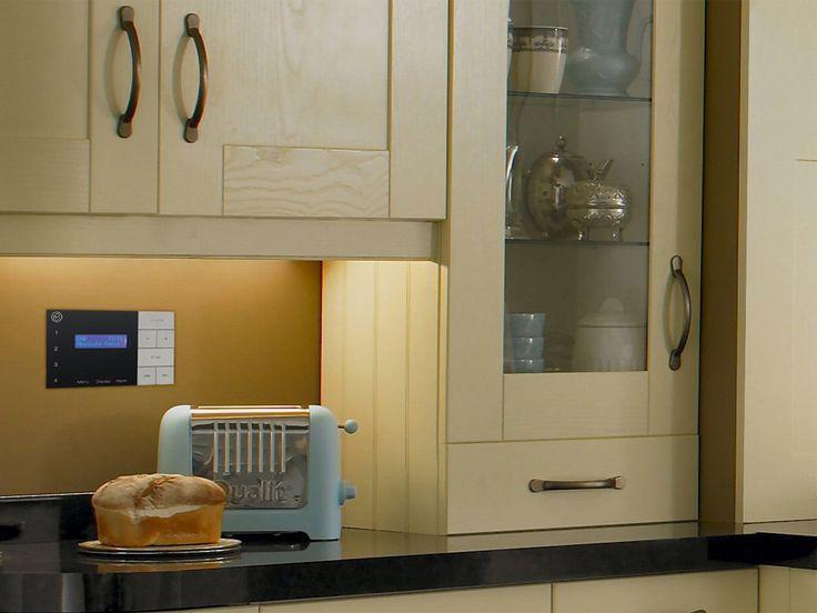 Systemline e200el ceiling speaker dab radio system for bathroom and kitchen kitchen bathroom for Ceiling speakers for bathroom