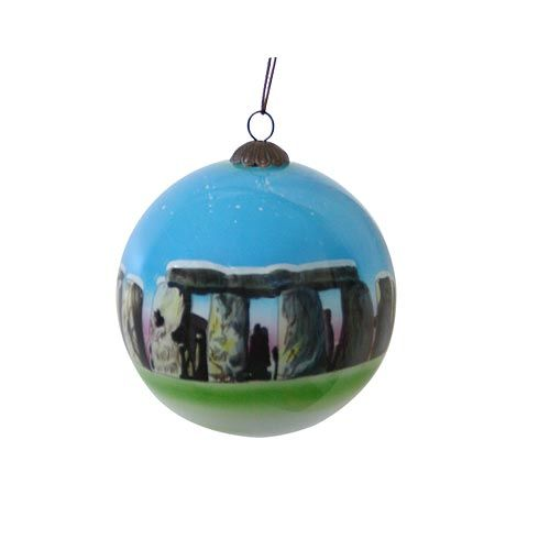Exclusive to English Heritage, this Stonehenge Christmas Bauble makes a great decoration at Christmas.