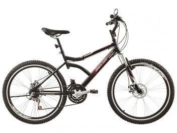Bicicleta Houston Discovery 2.6 Aro 26 21 Marchas - Freio à Disco