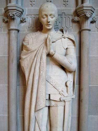 Jeanne D'Arc Statue.