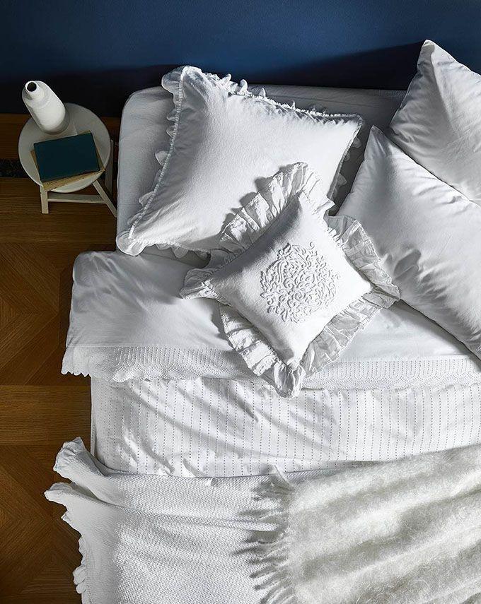 Por qué elegir la ropa de cama blanca y cómo mantenerla perfecta - https://decoracion2.com/ropa-de-cama-blanca/ #Decoración_Del_Dormitorio, #Ropa_De_Cama, #Tipos_De_Tejidos #ropadecama