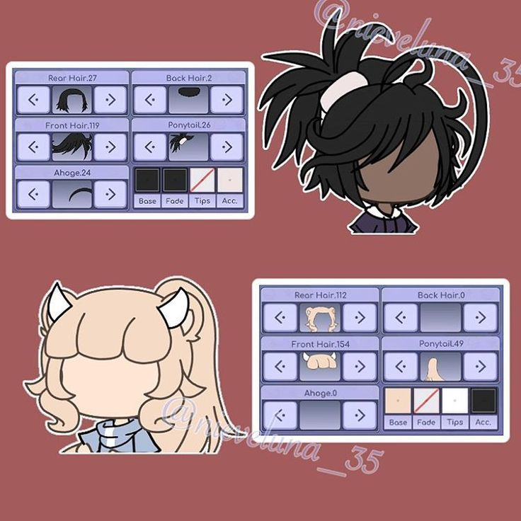 Hairstyles Gacha Life In 2020 Drawing Anime Clothes Anime Outfits Character Outfits