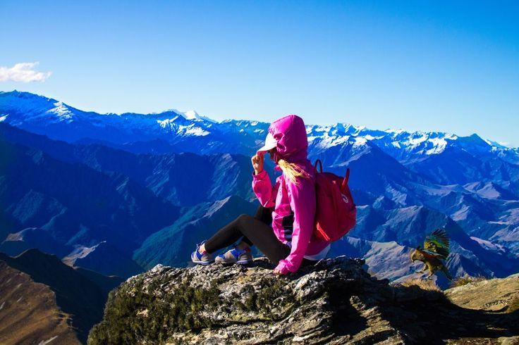 New Zealand travel -Ben Lomond summit