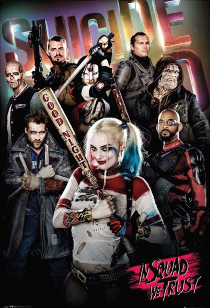 Deadshot, The Joker, And Harley Quinn Get Their Own SUICIDE SQUAD Posters