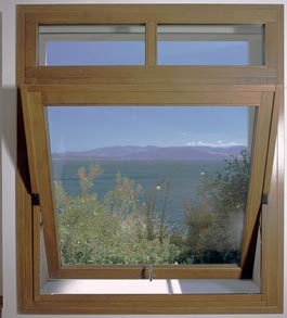 Custom Wood Pivot Window by America Italiana