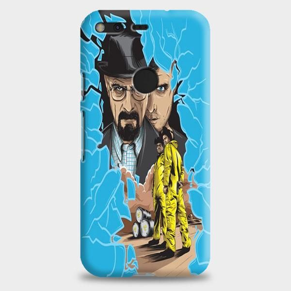 Breaking Bad Quote Collage Google Pixel 2 Case