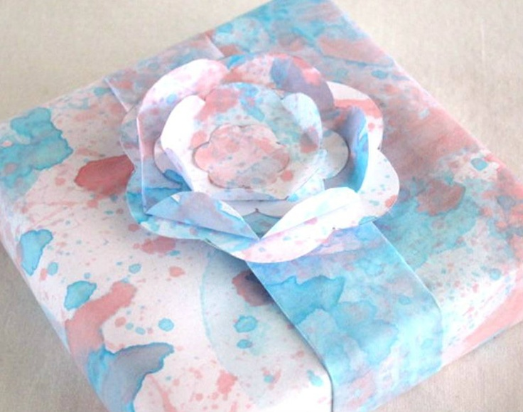 blah to TADA!: Homemade Gift Wrapper