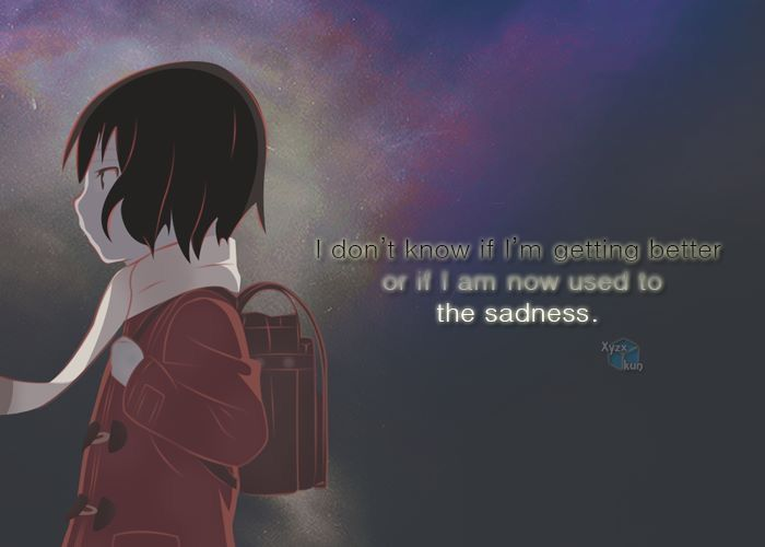 anime quotes deep: 208 Best Erased Images On Pinterest