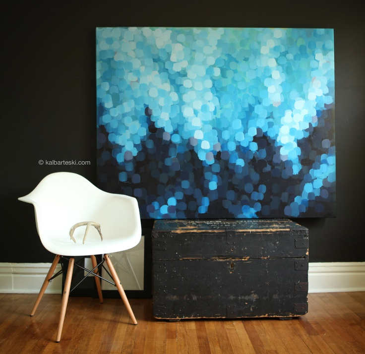 Image of Bokeh: OCEAN painting