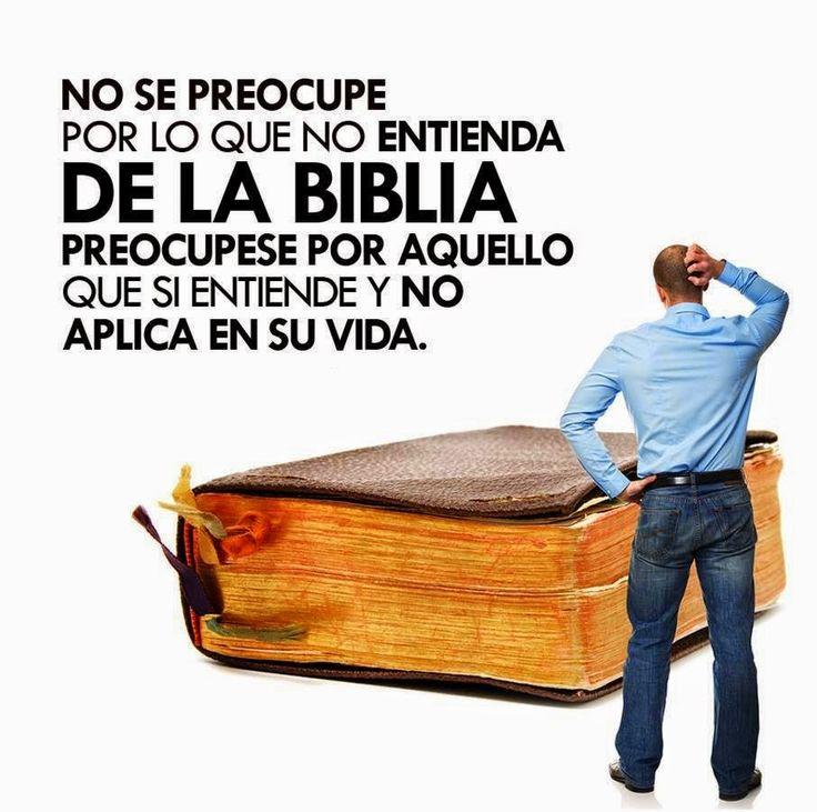 Carlos Martínez M_Aprendiendo la Sana Doctrina: NO SE PREOCUPE POR LO QUE NO ENTIENDA DE LA BIBLIA...