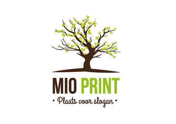 Premade Tree Logo Design van MioPrint op Etsy, €27.30 https://www.etsy.com/nl/listing/195338504/pre-made-tree-logo-design?ref=listing-5