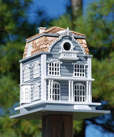 Home Bazaar Sag Harbor Bird House at BestNest.com