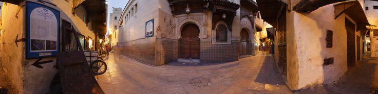 Mausoleo de Sidi Ahmad al-Tijani. fes at 360 degrees.