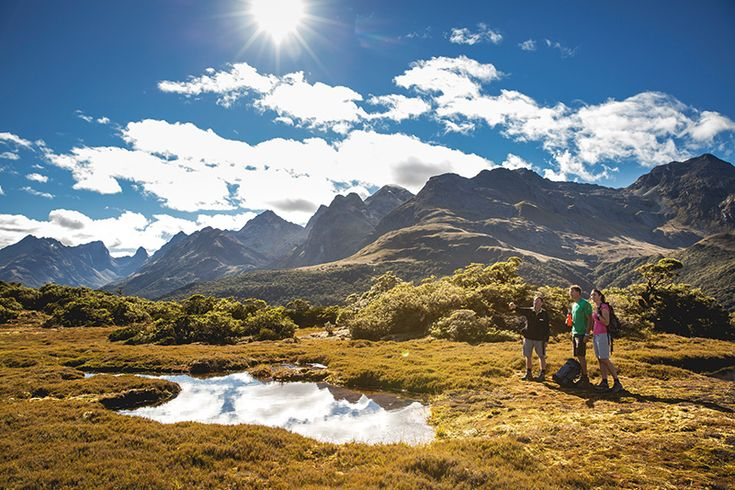 New Zealand's best hikes #NewZealand #MilfordTrack #RouteburnTrack