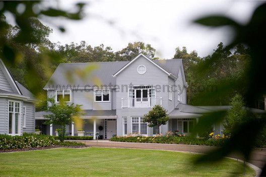 my dream house by a lake or beach