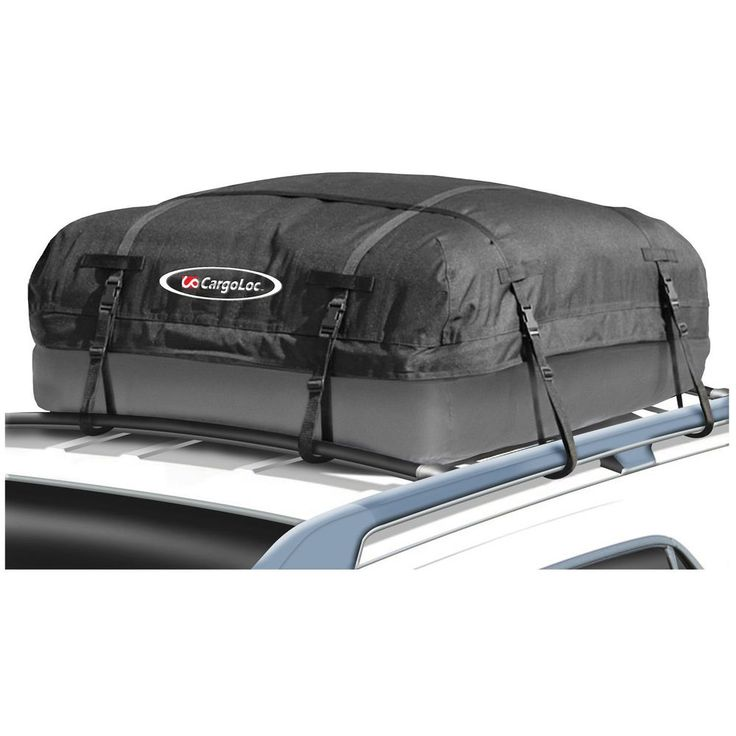 Cargo Roof Top Carrier Bag Rack 10 Cubic Ft Storage Luggage Car Rooftop Travel