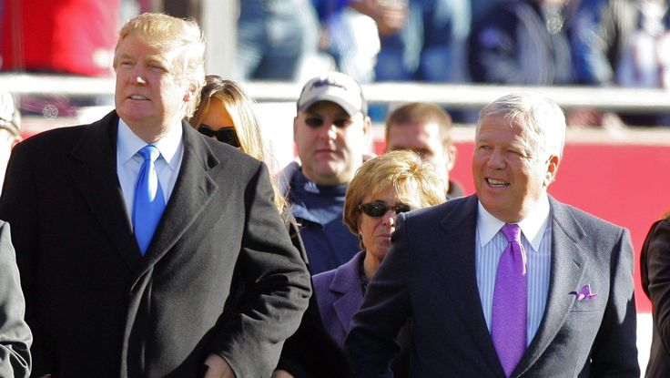 """Trump's reply to Robert Kraft includes another """"subtle"""" message"""