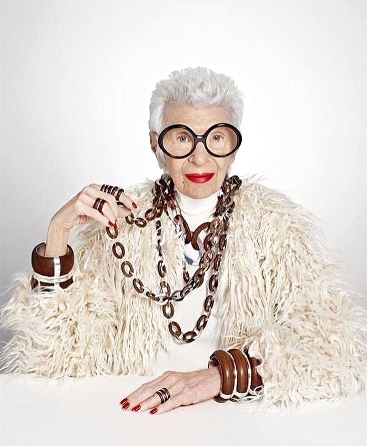 Iris Apfel Successful Business Women Entrepreneur Interior Designer And A True Fashion Icon Was Honored At The Twelfth Annual Together Gala