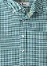 Boden Short Sleeve Laundered Shirt, Green Gingham Anything but bland - but smart enough to wear to work or at the weekend. Youll love the turn-up cuffs, button-down collar and soft, peached cotton. http://www.comparestoreprices.co.uk/mens-clothes/boden-short-sleeve-laundered-shirt-green-gingham.asp
