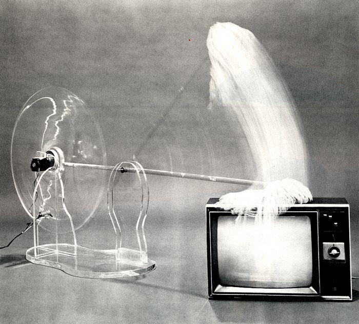 Carolee Schneemann, War Mop, 1983