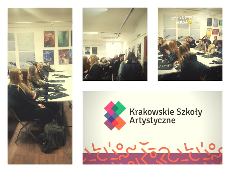 Open day at Cracow School of Art and Fashion Design. :) Thank you for coming! Next time we see March 1!