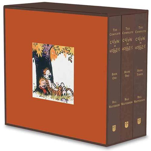 "The Complete Calvin and Hobbes: ""This is the treasure that all 'Calvin and Hobbes' fans seek."" $100"