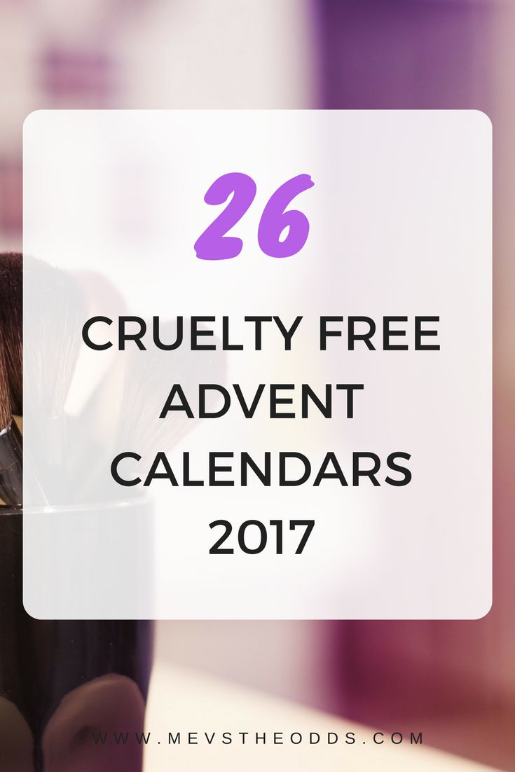 Looking for a cruelty free advent calendar this Christmas? Here are 26 you can chose from!!