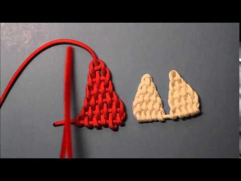 how to make a paracord heart